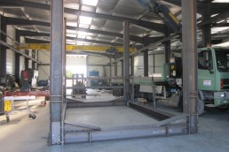 FABRICATION PORTIQUE